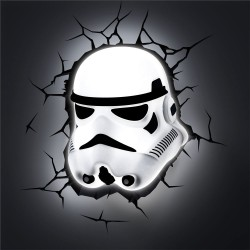 Lampe 3D Relief LED Stormtrooper