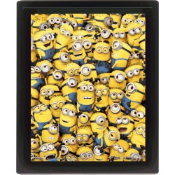 Poster 3D - Minions