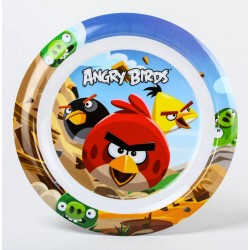 Assiette Angry Birds
