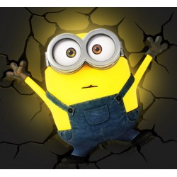 Lampe 3D Relief Minions