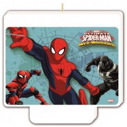 bougies-rectangle-spiderman