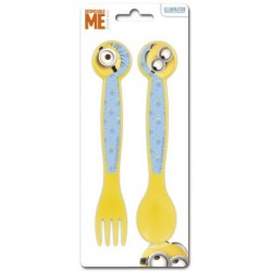 Set de 2 couverts - Minions