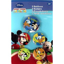 Badges - Mickey et ses amis