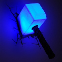 Lampe 3D Relief LED Thor
