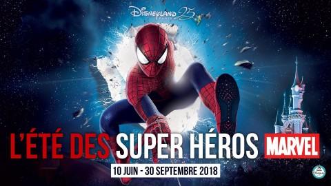 Venez vivre la cérémonie d'ouverture de l'Été des Supers Héros Marvel !